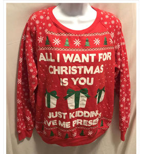 Size Large 11/13 Freeze Sweatshirt Christmas